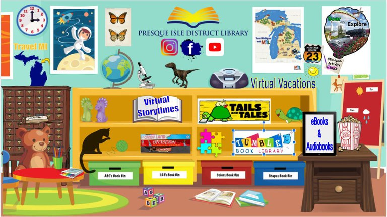 Link to PIDL Youth Virtual Library Room